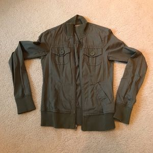 Rubbish Juniors Olive Green Jacket Sz Small